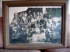 Alumnos de Puebla de Valles, hacia 1.920. Gentileza de Manuel Sanz Iruela
