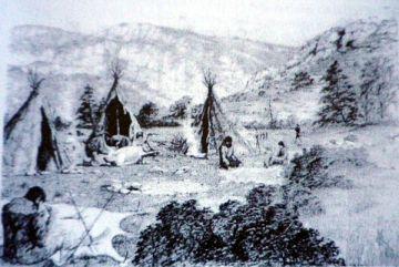 Posible modelo de poblados paleolíticos del valle del Sorbe