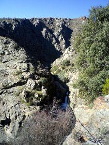 Desde el mirador del arroyo Carrizal