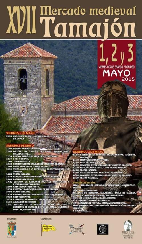 150421 Mercado medieval Tamajon